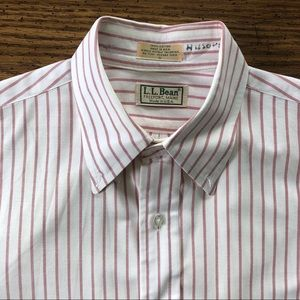 LL BEAN Vintage Made In USA Button Up